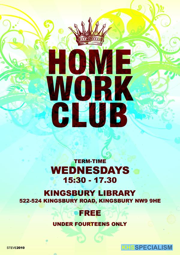 Homework Club Poster