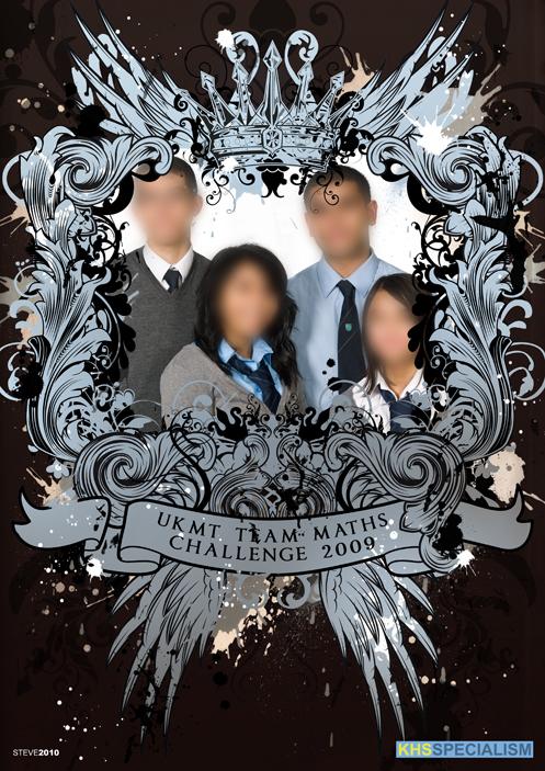 UKMT Team Maths Challenge Poster