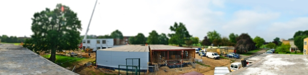 Village School Construction Panorama II