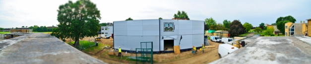 Village School Construction Panorama III