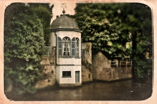 Bruges - Imaginary Postcard I