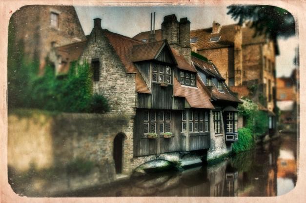 Bruges - Imaginary Postcard IV