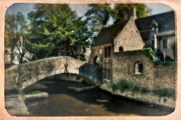 Bruges - Imaginary Postcard VI