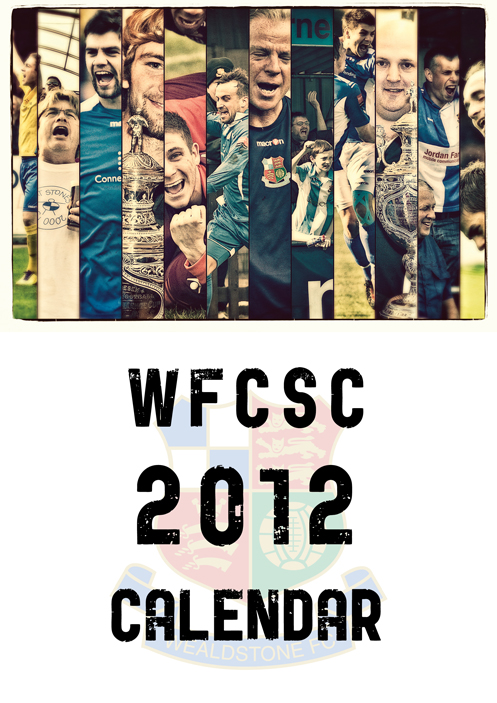 Wealdstone FC Supporters Club Calendar 2012 - Cover