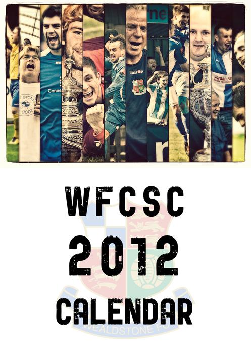 Wealdstone FC Supporters Club Calendar 2012 - Cover
