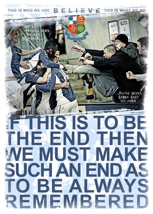 FA Trophy Semi-Final Poster I