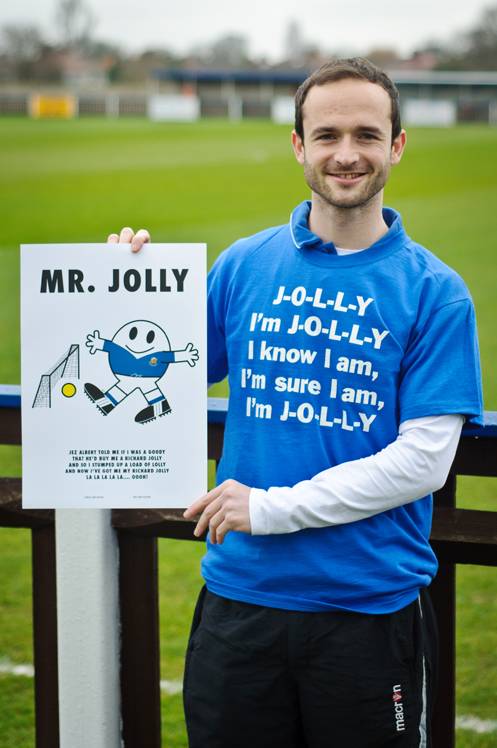 Richard Jolly with Mr Jolly Poster