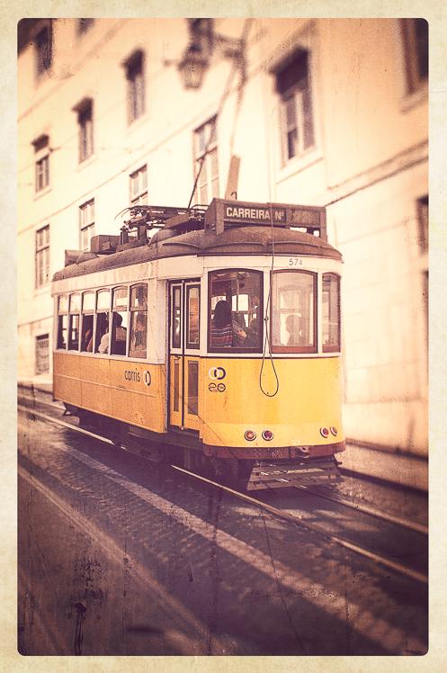 Old Lisbon Tram 001